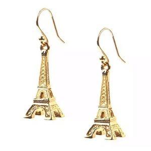 NWT Kate spade 🧡 Gold Eiffel Tower Earrings